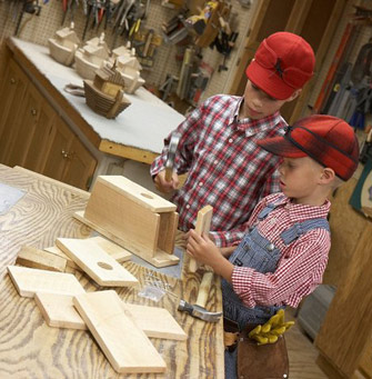 kids woodworking kits
