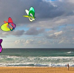 Learn how to make a kite yourself - it's fun and easy.