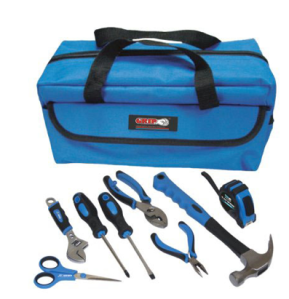 Kids Tool Sets - Grip On 9-piece Tool Kit
