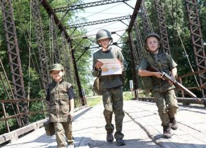 Army Kids Operation Capture the Flag