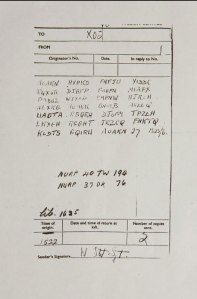 Secret Carrier Pigeon found with Coded WWII letter.