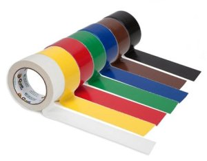 Be as creative as you want with a wide variety of Duct Tape colors from JM Cremps.