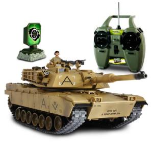 U.S. M1A1 Abrams Radio Controlled Tank (1:24 Scale)