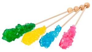 Rock Candy Science Experiment for kids