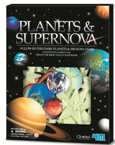 Glow in the Dark Book Planets & Supernova