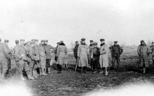 """Christmas Truce 1914"" by Robson Harold B - This is photograph Q 50719 from the collections of the Imperial War Museums.. Licensed under Public Domain via Wikimedia Commons - http://commons.wikimedia.org/wiki/File:Christmas_Truce_1914.png#mediaviewer/File:Christmas_Truce_1914.png"