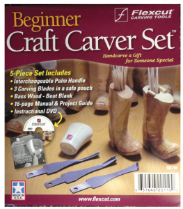 Beginner 3-blade Craft Carver Whittling Set