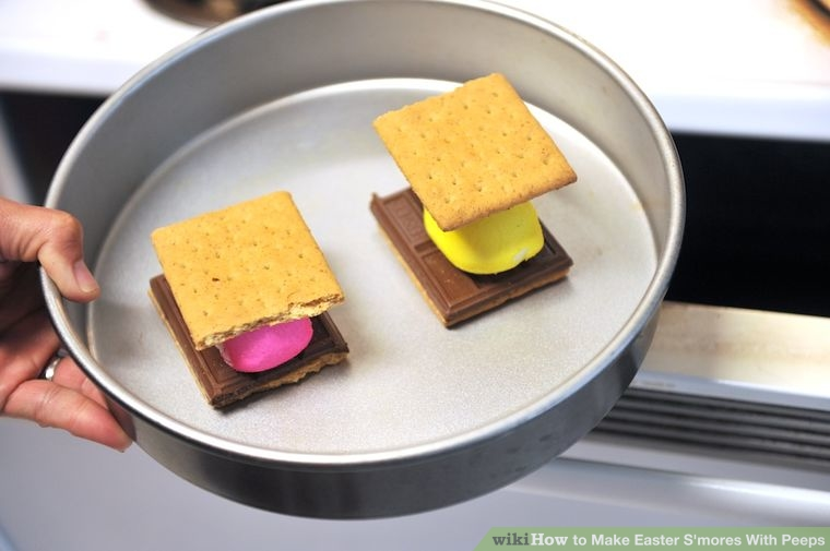Step 5: Bake the S'mores for 3 to 5 minutes.