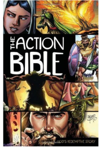 The Action Bible is a wonderful way to get kids to connect with the stories in the Bible in their own way.