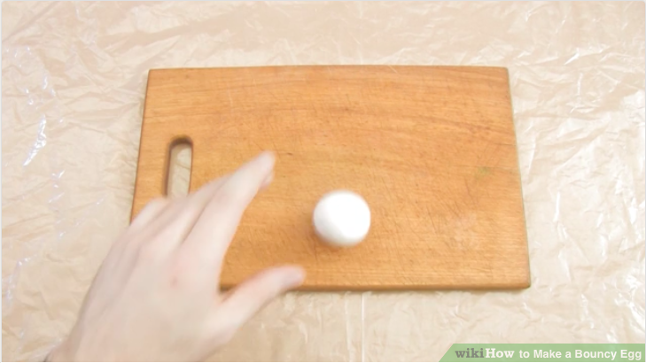 Easy Science Project - How to Make a Bouncy Egg