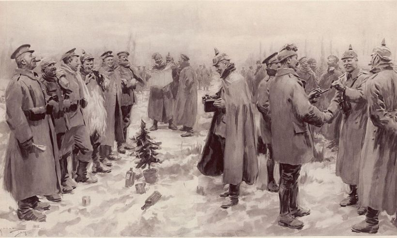 The Story of the WWI Christmas Truce of 1914