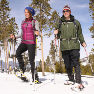 The Origin of Snowshoeing - Sherpa Snowshoe Kit Product Review
