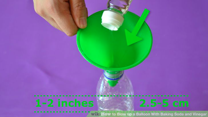 How to Inflate a Balloon With Baking Soda and Vinegar